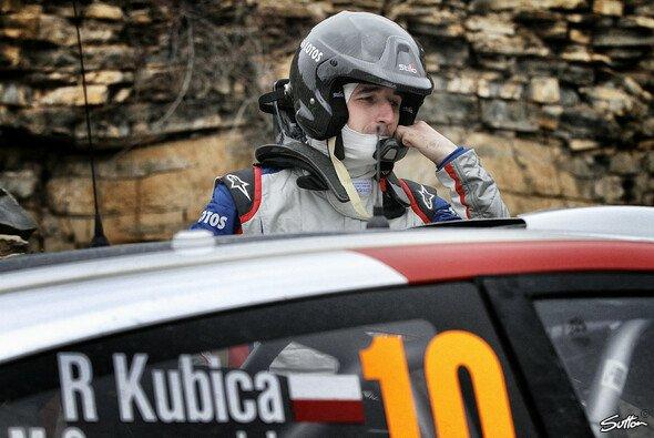 Robert Kubica fährt mitten in der WRC-Elite