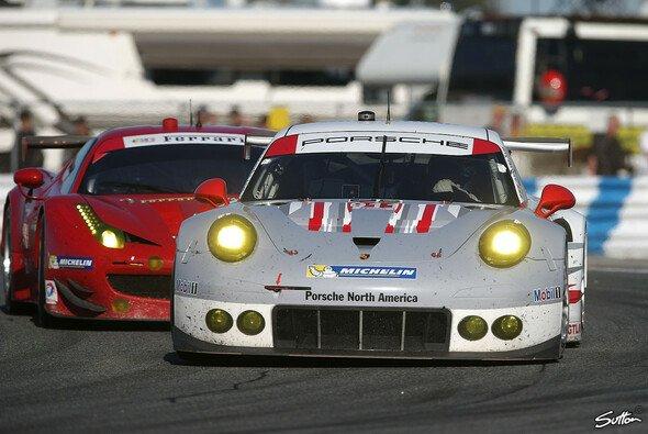 Der Porsche 911 RSR um Bergmeister, Christensen und Long in Daytona