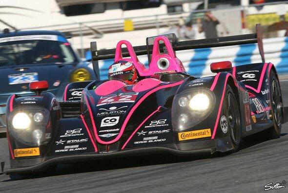 Der schnelle Morgan LMP2 (Nissan) des Oak-Teams auf der Piste
