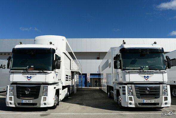 Marussia hat zwar in Jerez aufgeschlagen, aber das Auto fehlt noch... - Foto: Sutton