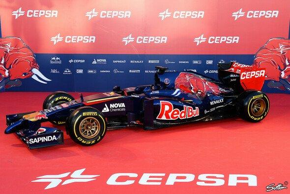 So sieht Toro Rossos Turbo-Bolide für die Saison 2014 aus