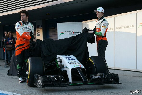 Force India zeigt den neuen Boliden - Foto: Sutton