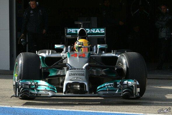 Der neue Turbo-Mercedes wurde am Dienstagmorgen in Jerez präsentiert