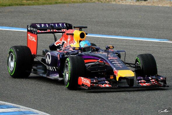 Sebastian Vettel brachte es am Dienstag auf drei Runden