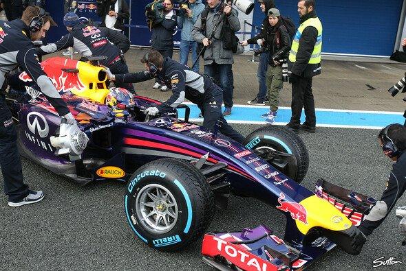 Sebastian Vettel fuhr an seinen beiden Testtagen insgesamt 9 Runden