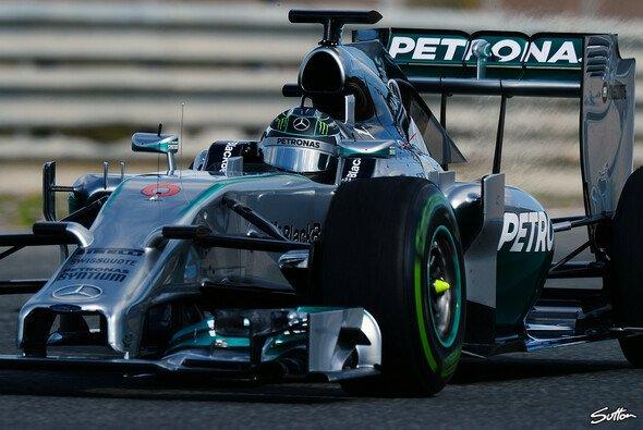 Mercedes legte in Jerez die meisten Test-Kilometer zurück