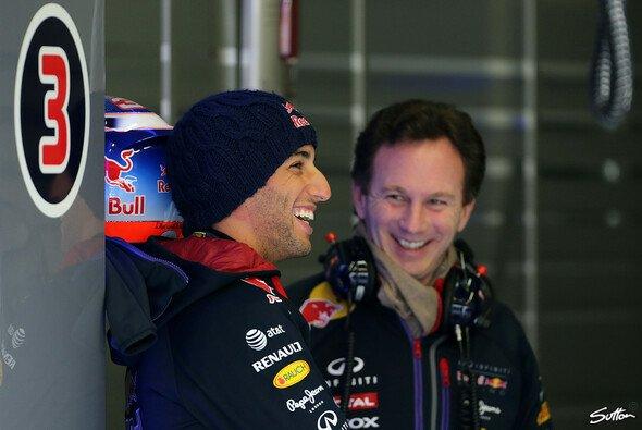 Können Ricciardo und Horner heute wieder lachen?