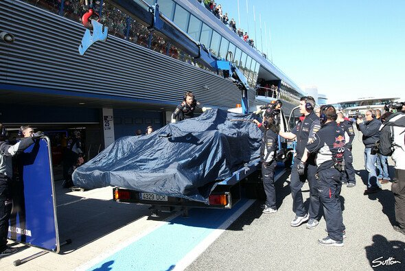 Der RB10 hat in Jerez noch nicht viel Tageslicht gesehen