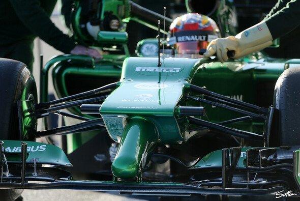 Der Caterham ist das hässlichste Auto in der Formel 1