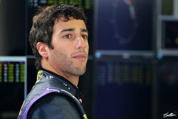 Daniel Ricciardo verbrachte den Großteil des Tages mit Warten