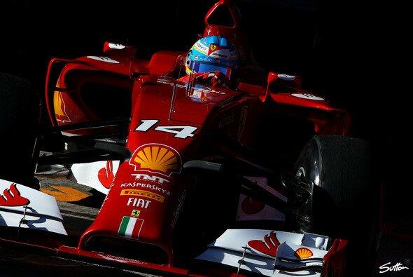 Alonso fuhr am Donnerstag die fünftbeste Zeit