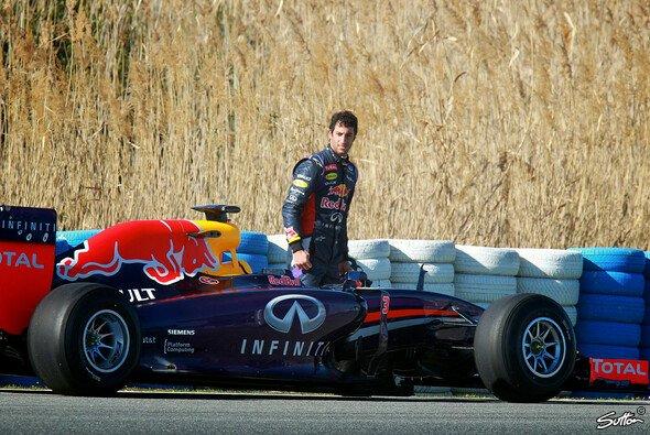 Ricciardo kam an seinen beiden Einsatztagen auf insgesamt 10 Runden