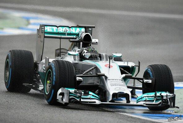 Nico Rosberg gab am Freitag noch einmal Vollgas in Sachen Rundenanzahl