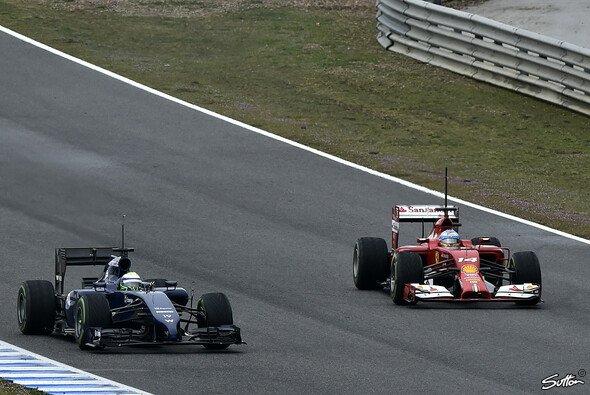 Alonso hat Massa auf dem Schirm