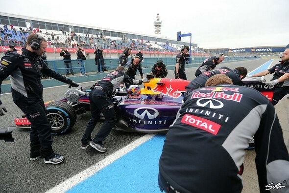 Ricciardo spulte am finalen Tag sieben Runden ab