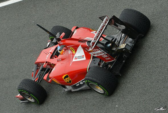 Alonso spulte 115 Runden ab