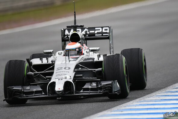 Magnussen bestreitet für McLaren den Testauftakt