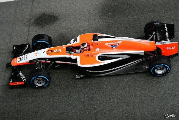 Marussia testet fleißig in Jerez
