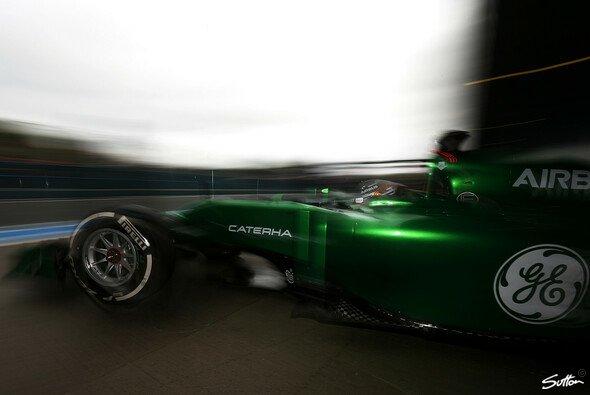 Caterham schlug sich von den Renault-Teams noch am besten