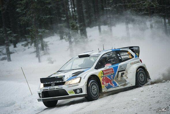 Jari-Matti Latvala ist der strahlende Sieger in Schweden