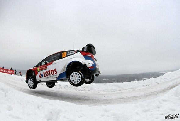 Robert Kubica strandete gleich mehrfach im Schnee