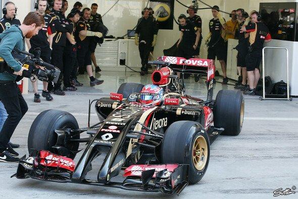 Charles Pic wurde in Bahrain als neuer Lotus-Ersatzfahrer vorgestellt