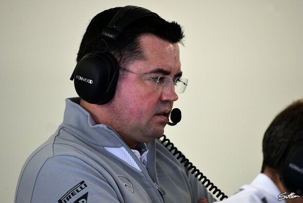 Eric Boullier in silber - Foto: Sutton