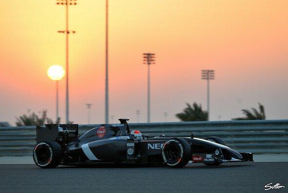 Adrian Sutil absolvierte 82 Runden auf dem Bahrain International Circuit