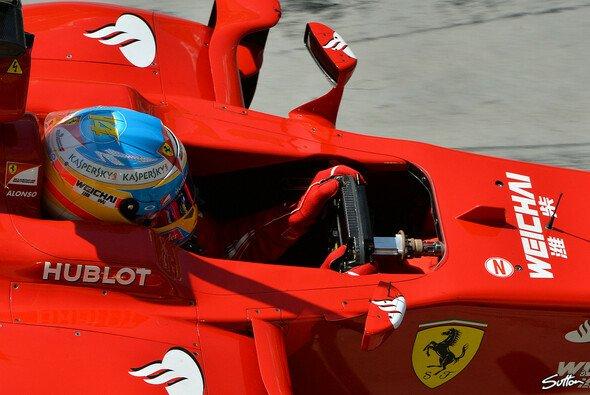 Alonso ist mit seinem Boliden zufrieden