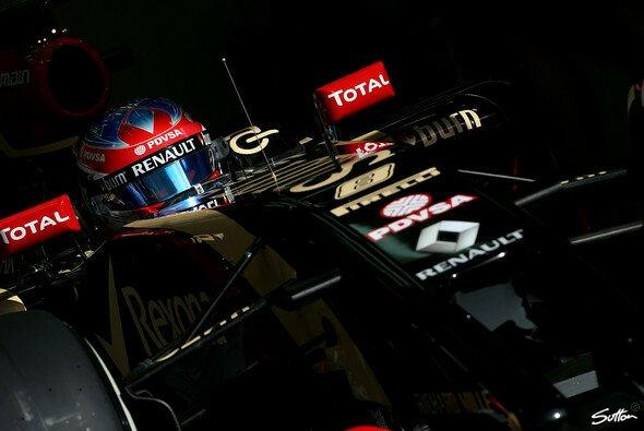 Romain Grosjean hat für 2014 klare Ziele