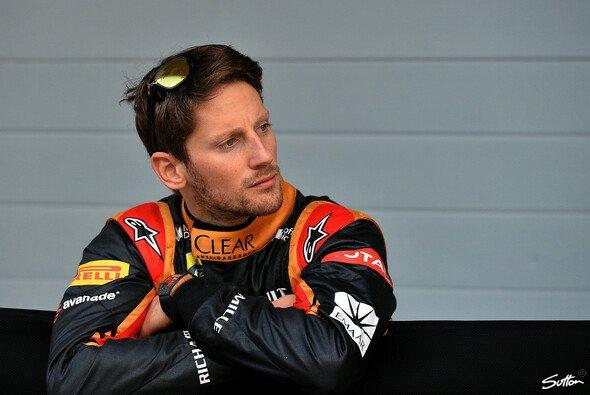 Zwischen zwei Testwochen in Bahrain machte Romain Grosjean in Moskau halt