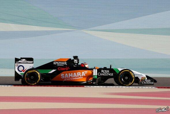 Bereits bei den Testfahrten in Bahrain vor der Saison war der Aufschwung Force Indias erkennbar