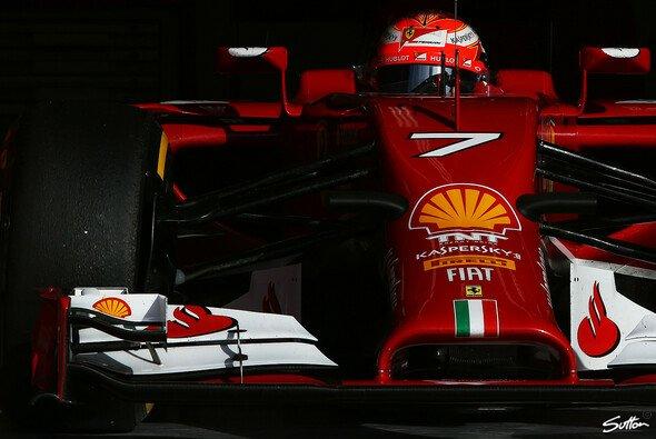 Räikkönen kann schmerzfrei Gas geben