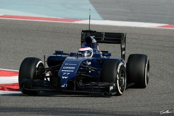 Valtteri Bottas erlebte in seinem FW36 einen problemfreien ersten Tag bei den zweiten Bahrain-Tests