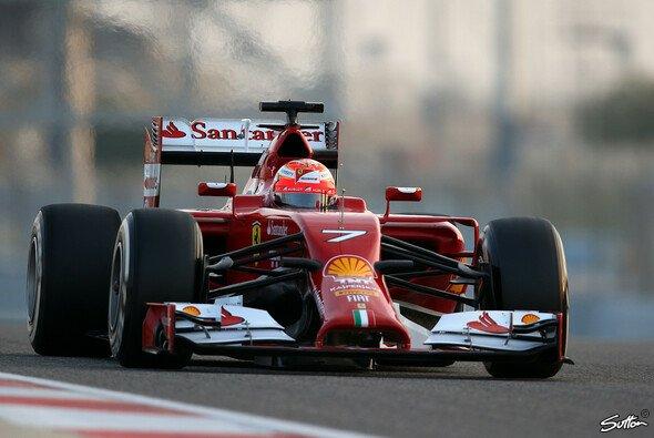 Räikkönen fuhr die drittschnellste Zeit