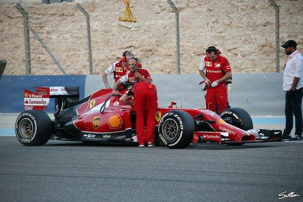 Kimi Räikkönen blieb mal wieder auf der Strecke hängen