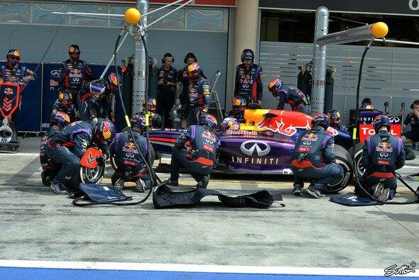 Renault hat seinen Motor inzwischen von der FIA versiegeln