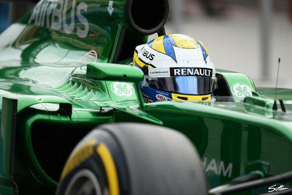 Marcus Ericsson ist der Renault-Kilometer-Hamster