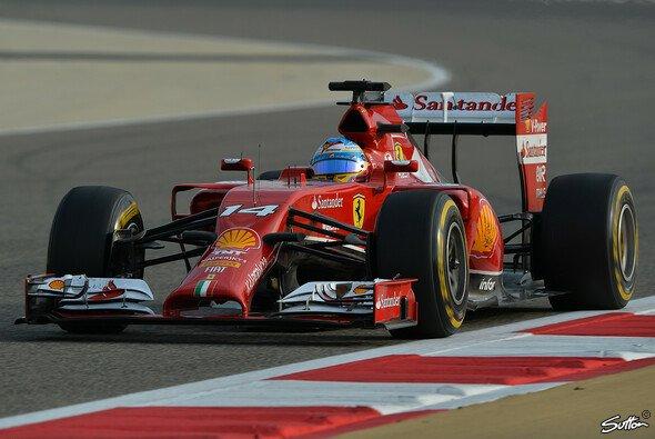 Fernando Alonso wurde am Freitag Rundenkönig
