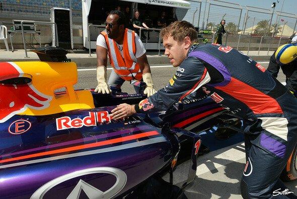 Sebastian Vettel kam am Samstag ganze vier Kurven weit