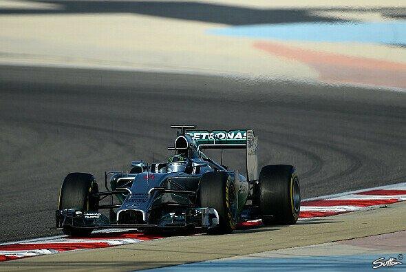 Nico Rosberg benennt die Standfestigkeit sowohl als Pluspunkt als auch Baustelle