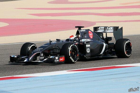 Adrian Sutil debütiert für Sauber