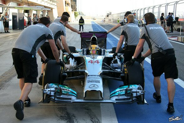 Mercedes ist top drauf nach den Tests - Foto: Sutton