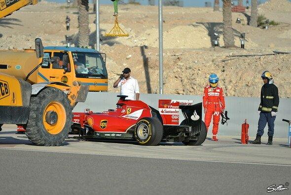Bei Ferrari läuft noch nicht alles rund kurz vor dem Saisonstart