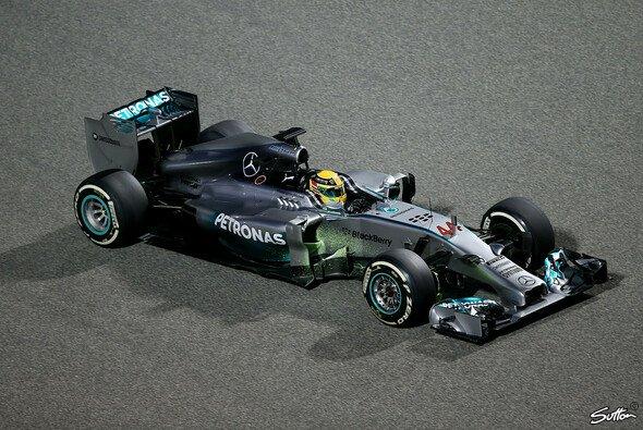 Mercedes geht als Topfavorit in die Saison