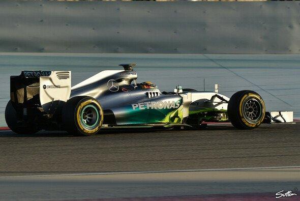 Mercedes erlebte einen positiven, wenn auch nicht problemfreien Test