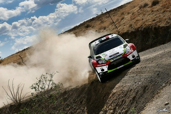 Benito Guerra war vom Ford Fiesta RS WRC angetan