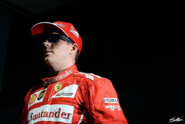 Kimi Räikkönen macht sich keine Sorgen
