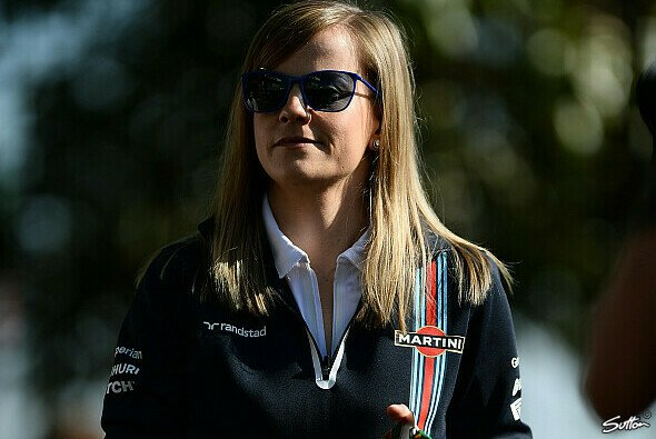 Susie Wolff f�hrt in Silverstone f�r Williams - Foto: Sutton