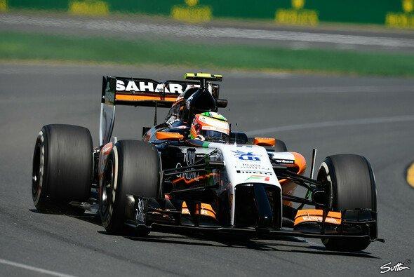 Sergio Perez will in Malaysia weit in die Punkteränge vordringen